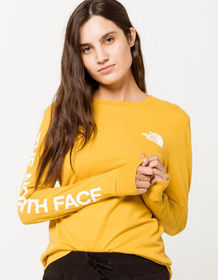 THE NORTH FACE Brand Proud Gold Womens Tee_