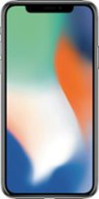 Apple - Preowned iPhone X with 64GB Memory Cell Ph