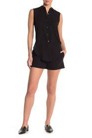 Theory Ranay Sleeveless Short Romper