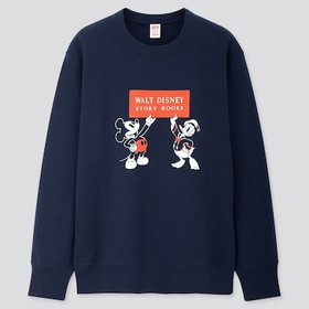 Disney Stories Long-Sleeve Sweatshirt, Navy, Mediu