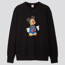 Disney Stories Long-Sleeve Sweatshirt, Black, Medi