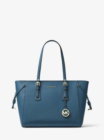Michael Kors Voyager Medium Crossgrain Leather Tot