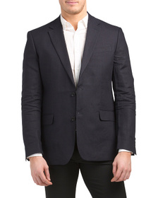 FRENCH CONNECTION Linen Slim Suit Jacket