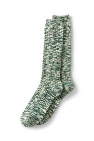 Lands End Men's Thermaskin Marl Boot Socks