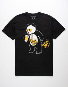 RIOT SOCIETY x Carl's Jr. Panda Star Mens T-Shirt_