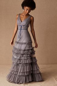 Anthropologie Marchesa Notte Alaudine Dress