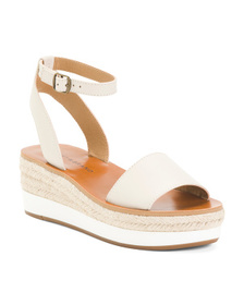 LUCKY BRAND Espadrille One Band Leather Sandals