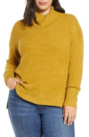 Caslon Cozy Relaxed Turtleneck Sweater