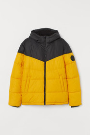 Padded Hooded Puffer Jacket