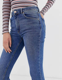 Warehouse sculpt high rise skinny jeans