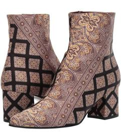Etro Printed Ankle Boot
