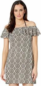 Tommy Bahama Desert Python Ruffle Spa Dress Cover-