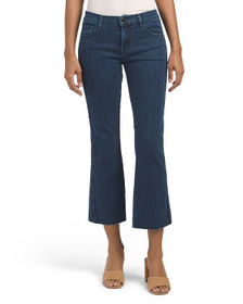 J BRAND Made In Usa Selena Mid Rise Crop Bootcut J
