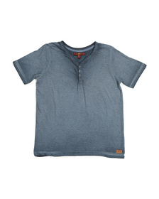 7 FOR ALL MANKIND Big Boys Henley Tee