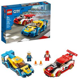 LEGO City Racing Cars 60256 Buildable Toy for Kids