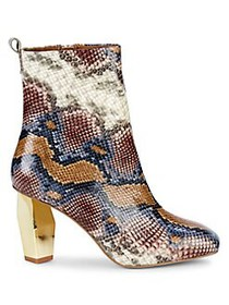 Kurt Geiger London Daxon Snakeskin-Print Leather B