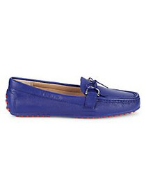 Lauren Ralph Lauren Briley Leather Loafers BLUE