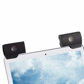 Laptop Speakers Clip on External USB Powered Small