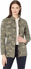 Lucky Brand Long Sleeve Button-Up Two-Pocket Camo