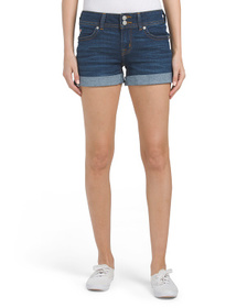 Reveal Designer Ruby Mid Thigh Shorts