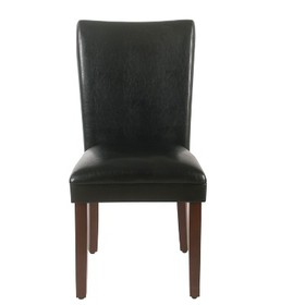 Set of 2 Parsons Dining Chair Faux Leather - Homep