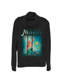 the little mermaid juniors' ariel and friends cowl