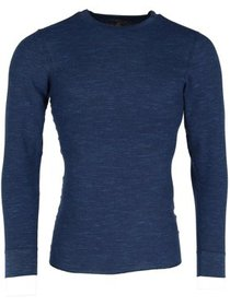 Hanes Waffle Knit Space Dyed Thermal Shirt (Men's)