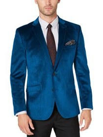 Kenneth Cole Reaction Mens Big & Tall Velvet Two-B