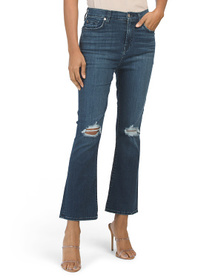 7 FOR ALL MANKIND High Waist Slim Kick Jeans With