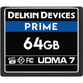 Delkin Devices 64GB Prime UDMA 7 CompactFlash Memo