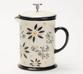 """""""As Is"""" Temp-tations 24-Ounce Ceramic French Press"""