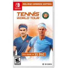 Tennis World Tour: Roland-Garros Edition - Nintend