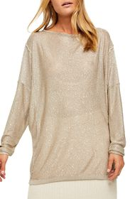 Free People All That Glitters Sequin Sweater