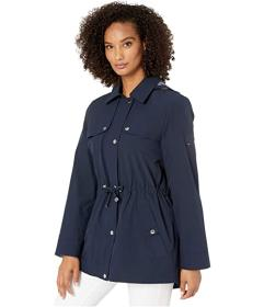 Tommy Hilfiger Button-Down Anorak Jacket with Flap