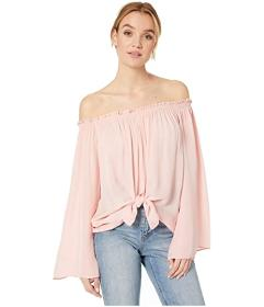 Nicole Miller Rocky Off the Shoulder Top