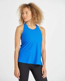 Spanx Perforated Active Tank, Bright Cobalt