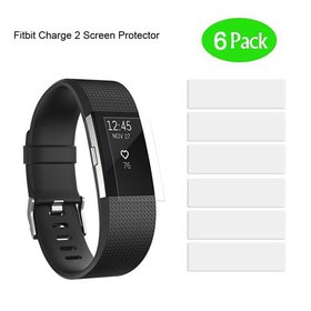 Fitbit Charge 2 Screen Protector 6 Pack HD Clear A