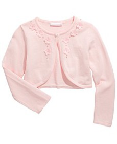 Toddler Girls Cotton Flyaway Cardigan