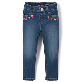 Baby And Toddler Girls Strawberry Super Skinny Jea