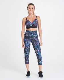 Spanx Booty Boost Active Cropped Leggings, Prints