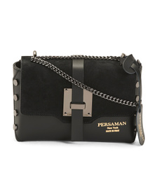 PERSAMAN NEW YORK Made In Italy Claudia Leather Cr