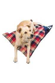 Duck River Textile Hasley Red/Navy Plaid Pet Pillo