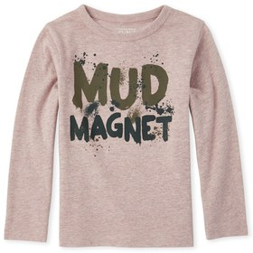 Baby And Toddler Boys Mud Magnet Graphic Tee