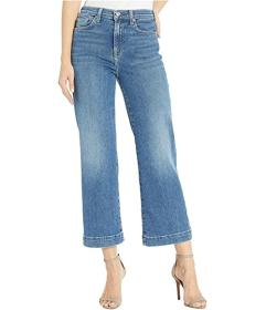 7 For All Mankind Cropped Alexa in Luxe Vintage St