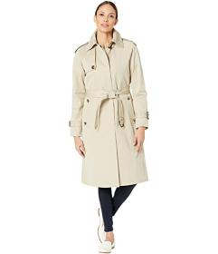 London Fog Megan Heritage Trench Coat with Removab