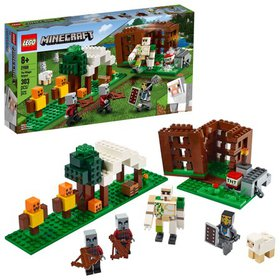 LEGO Minecraft The Pillager Outpost 21159 Action F