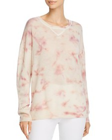 C by Bloomingdale's - Tie-Dye Cashmere Sweater - 1