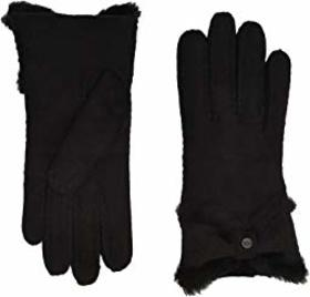 UGG Water Resistant Sheepskin Turned Bow Gloves