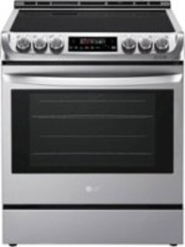 LG - 6.3 Cu. Ft. Slide-In Electric Range with ProB
