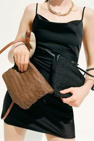 Laurie Woven Mini Tote Bag